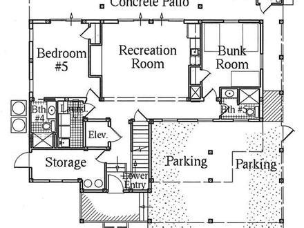 multi level house floor plans luxury house floor plan beachfront homes floor plans