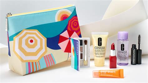 Clinique Gift Card Discount - free 7 piece clinique gift set w purchase 70 value