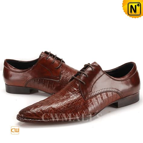 mens oxfords shoes mens embossed leather oxfords cw716223