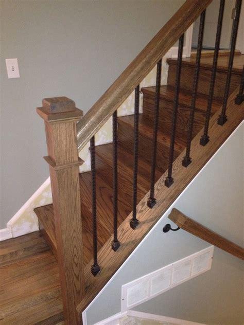 oak banisters and handrails gorsegner brothers online portfolio of nj hardwood