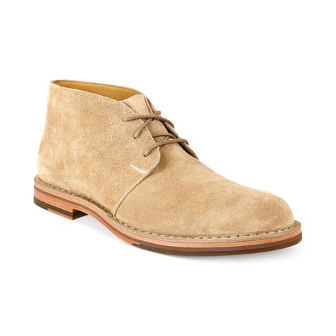 cole haan mens chukka boots cole haan glenn chukka boots in beige for milkshake