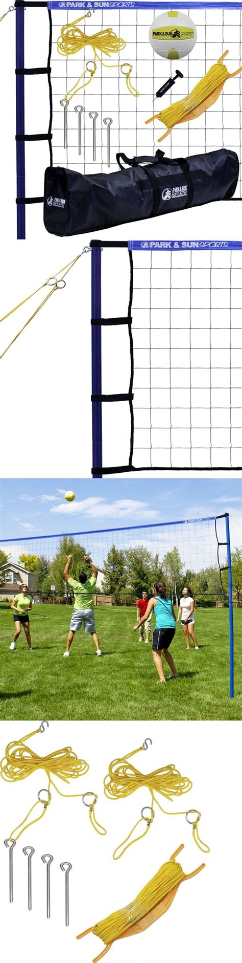 backyard volleyball net system 25 best ideas about outdoor volleyball net on pinterest