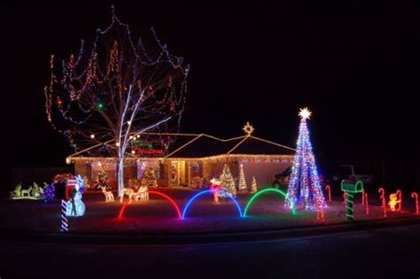 christmas lights in cat country cat country 98 7