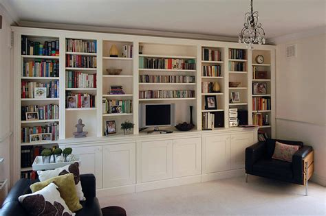 Bespoke Living Room Shelves Custom Made Living Rooms Display Tv And Media Units