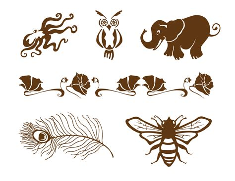 henna tattoo animals henna animals simple makedes