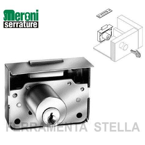 serrature per cassetti serratura da applicare meroni 2203 per mobili cassetti