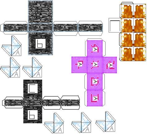 Minecraft Papercraft Ender - minecraft papercraft ender www pixshark
