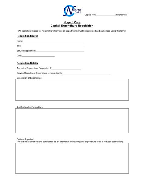 best photos of capital expenditure justification template