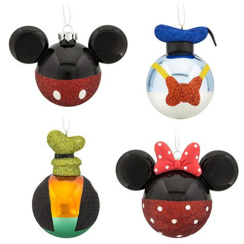 your wdw store disney ornament set mickey mouse and pals set