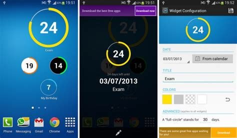 countdown app android the 9 best countdown apps and widgets for android xslab