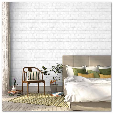 Wallpaper Sticker Dinding Bata Orange Putih pilihan tepat dekorasi dinding untuk rumah anda desain