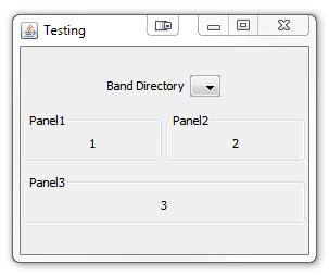 meaning of layout in java swing java gridbaglayout adjusting stack overflow