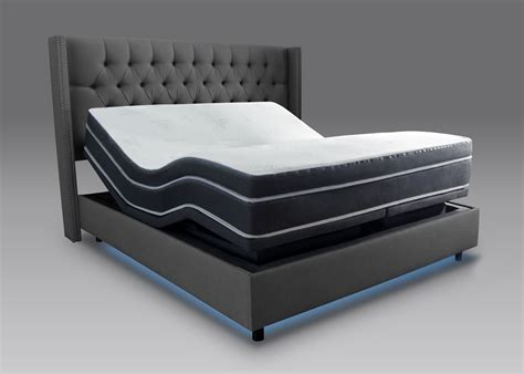 bed with mattress included h10 mattress and 7s adjustable base queen combo