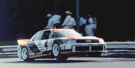Audi 90 Imsa Gto Kaufen by An Audi 90 Quattro Imsa Gto With Hans Joachim Stuck