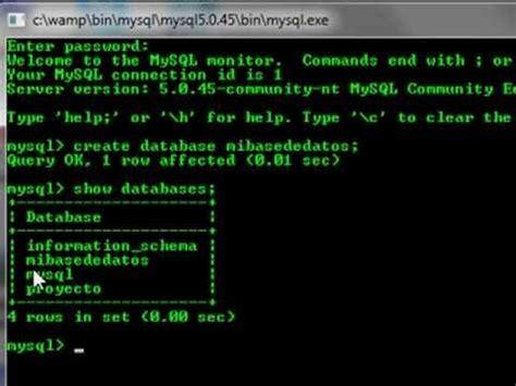tutorial de mysql en xp instalaci 243 n y configuraci 243 n de wamp server funnycat tv