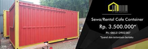Harga Desain Kios Buah menyewakan cafe container food container kios kontainer