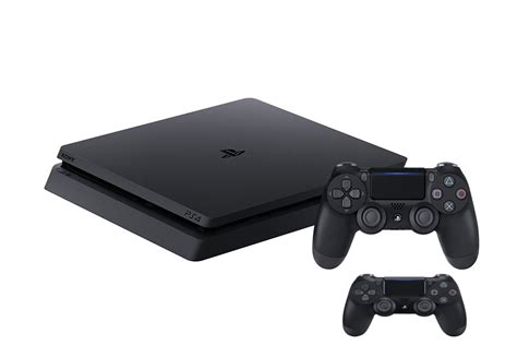 console playstation 4 ps4 playstation 4 500gb slim console with an