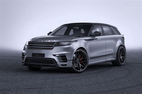 land rover velar custom widebody range rover velar by lumma is all show with no