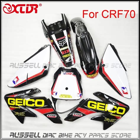 Buy Wholesale Honda Decal Kit - 3m decals stickers graphics kits for honda crf 70 crf70