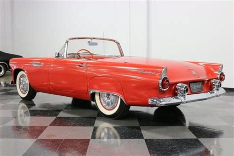 old car manuals online 2003 ford thunderbird head up display 1955 ford thunderbird convertible 292 v8 3 speed manual classic vintage collect classic ford