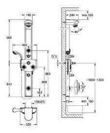 colonne de grohe aquatower 3000