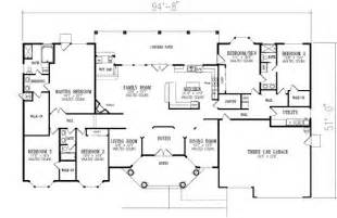 5 bedroom 1 story house plans a51dc7f6f8df248fe4f901753e35f0f5 jpg
