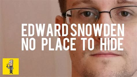 edward snowden no place to hide animated book summary