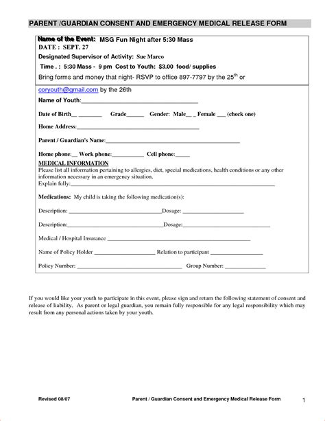 30 medical release form templates template lab with record