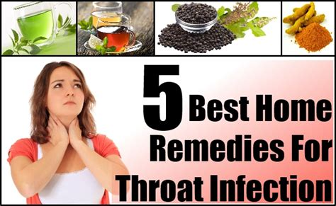 throat infection home remedies treatments cure
