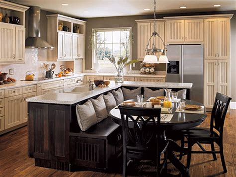 kitchen island with seating top 25 ideas to spruce up the kitchen decor in 2014 qnud