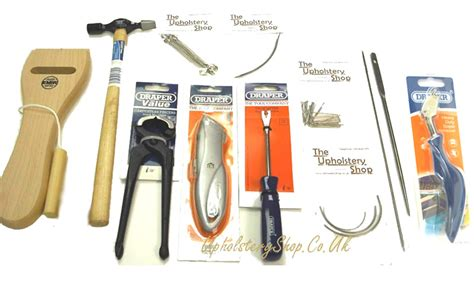 tools for upholstery b upholstery tool kit standard upholsteryshop co uk