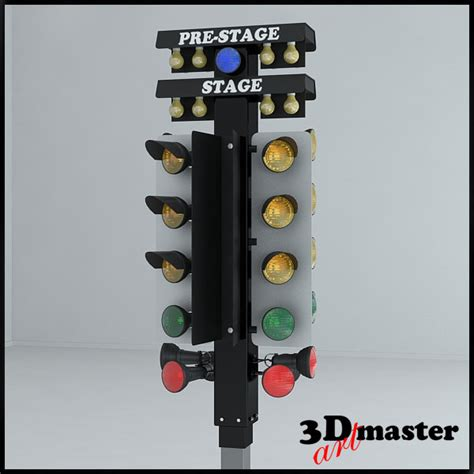 drag tree for sale 3d drag racing tree model turbosquid 1191667