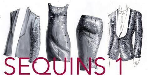 fashion illustration zoe hong fashion illustration tutorial sequins part 1 2