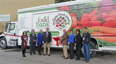 Southern Tier Mobile Food Pantry by Food Bank Of Southern Tier Buys New Truck With Donations