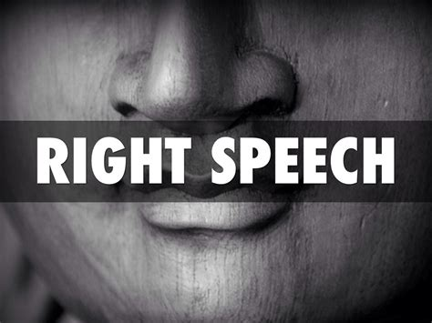 what of is right for me right speech vow posts from the path