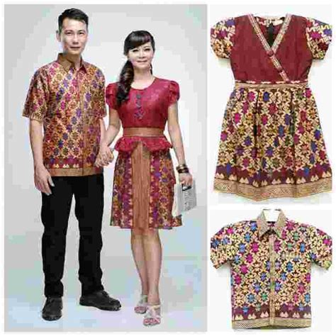 Baju Batik Family jual baju batik family set fashion