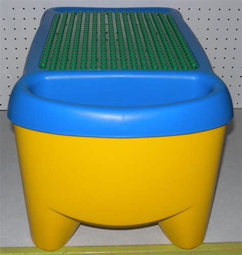 lego duplo desk building blocks storage table