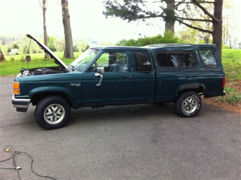 car owners manuals for sale 1989 ford ranger electronic valve timing 1989 ford ranger xlt extended cab 4x4 low milieage for sale photos technical specifications