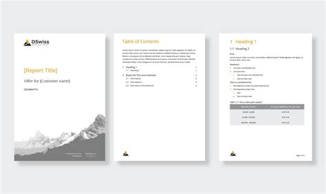microsoft office template design microcosm graphic