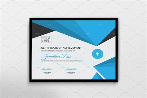 creative certificate template stationery templates
