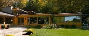 Midcentury Modern Rug - flat roof homes exterior midcentury with bauhaus danish