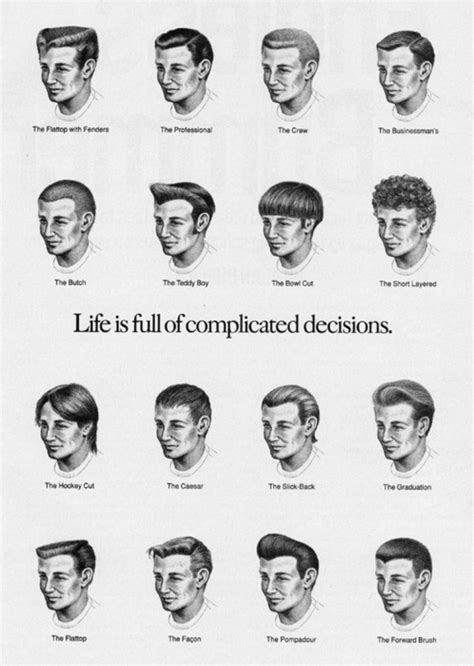 hairstyles and names for guys the hair hall of fame august 2011