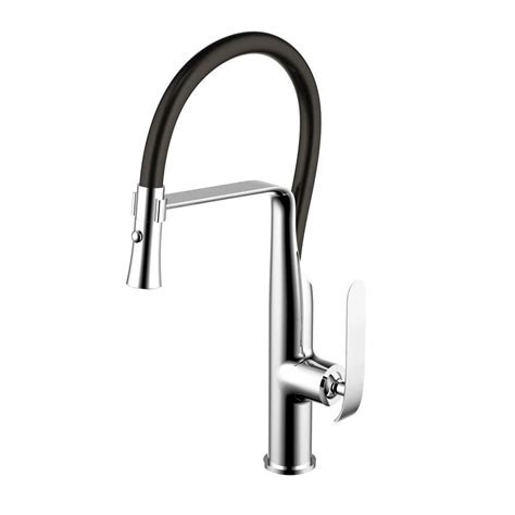 Premier Nickel Pull Down Faucet, Nickel Premier Pull Down