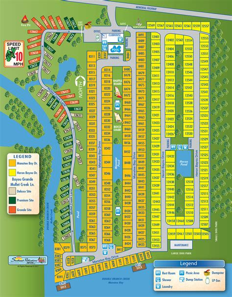 Find In Florida Bay Bayou Rv Resort Find Cgrounds Near Ta Florida