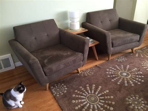 cat scratch proof couch lynn d i love my hughes cat scratch proof chairs the