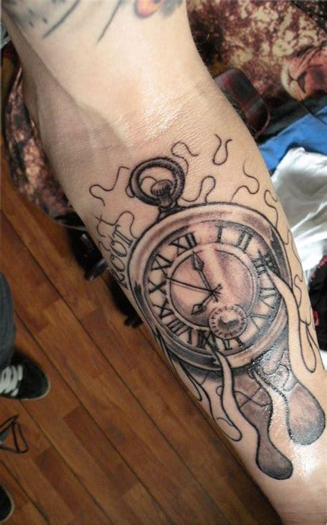 clock nd tattoo by willemxsm on deviantart