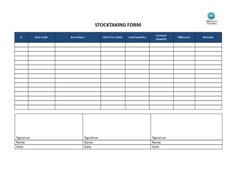 download stock inventory control template for free tidyform