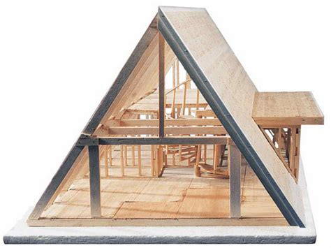 a frame house plans free modern small cabin floor plans