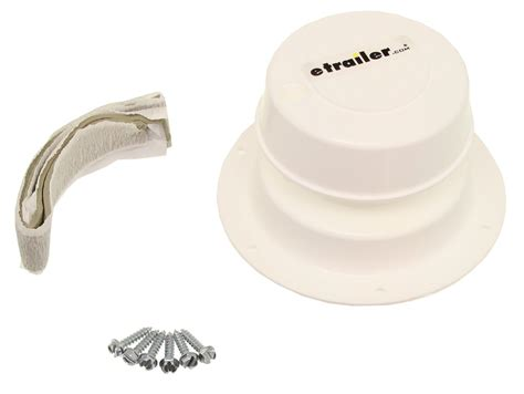 Rv Plumbing Parts And Supplies by Camco Rv Replacement Plumbing Vent W Putty And Screws