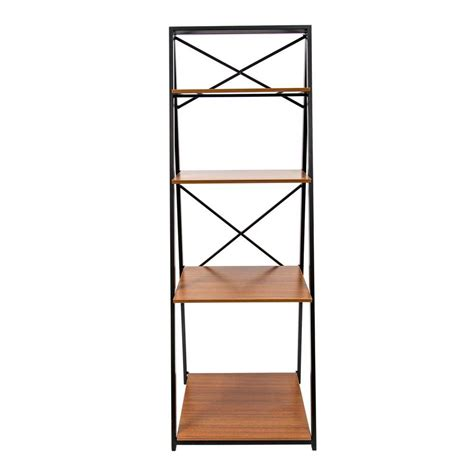 Origami Shelving Unit - origami 20 in w x 18 in d folding decorative 4 shelf